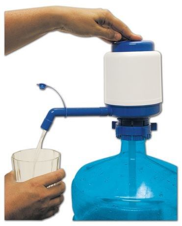 Innovative Vacuum Action Hand Press Water Dispenser Pump Easy To Clean